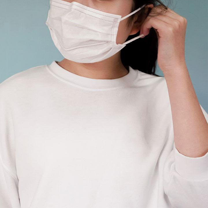日常的に行っている感染予防